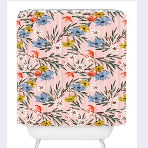 Deny Designs Jungle Bungalow Shower Curtain